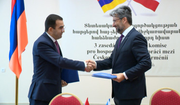 Czech Republic has 30 companies and 20 million USD turnover with Armenia
