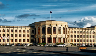 City council session in Gyumri