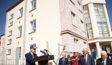 PM attends Aghavni crafts center opening in Gyumri