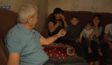 Another Gyumri family has roof over their heads