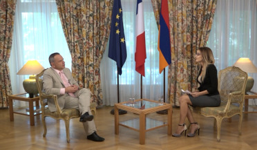 French ambassador bids farewell to diplomatic mission in Yerevan