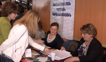 Work fair in Gyumri