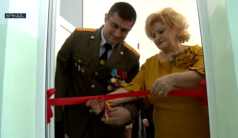 Classroom named after Sargis Stepanyan opens in school number 11