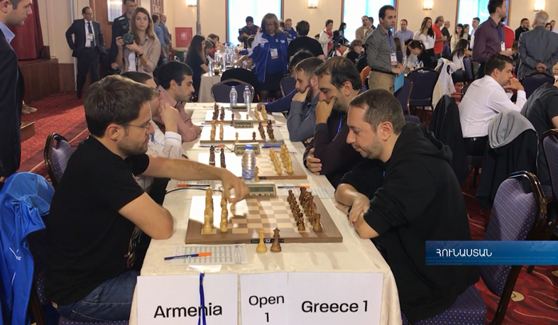 Armenian Men's National Team wins in Europe Chess Championship