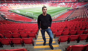 Film about Henrikh Mkhitaryan on Manchester United TV