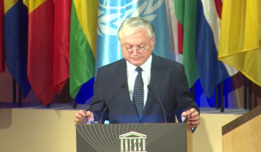 About Azerbaijani anti-Armenian policy from UNESCO conference chair