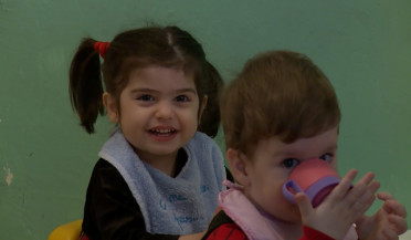 Most of children in Armenian orphanages have parents