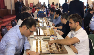Our team in European Chess Championship