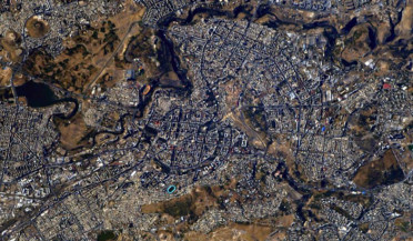 Yerevan from Space