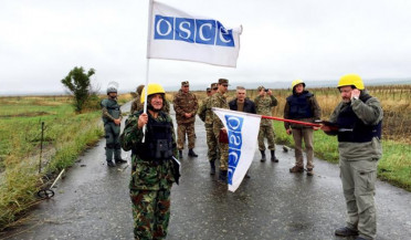 OSCE mission to hold monitoring on frontline