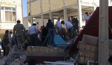 Iran earthquake death toll reaches 445