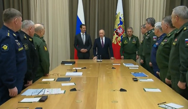 Putin-Assad meeting: terrorists stay, RF army leaves
