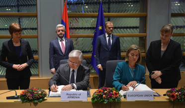 EU-Armenia Agreement: Yerevan and Brussels in historic haven