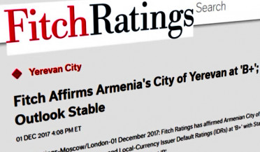 Economic index of Yerevan is stable