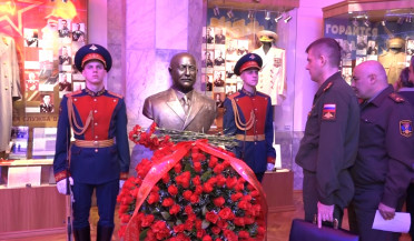 RA and RF celebrate Baghramyan's 120-year anniversary