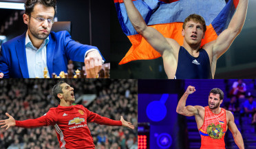 Top ten athletes of Armenia