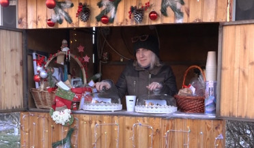 Christmas Bazar in Gyumri