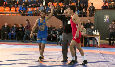 Freestyle wrestling team determined in Mejlumyan competition