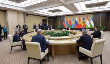 RA President attends informal meeting of CIS heads