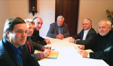 RA Foreign Minister meets Minsk Group Co-Chairs