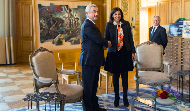 Hidalgo: Paris and Yerevan have common values