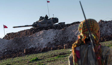 Turkish army's actions in Syria