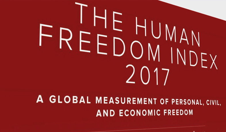 Armenia's place in Human Freedom Index