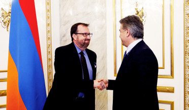 U.S. to continue supporting Armenian reforms