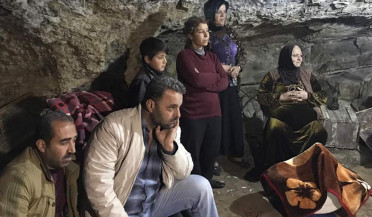 Caves are safest places in Afrin