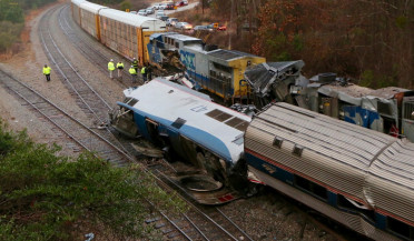 Trains collide in South Carolina
