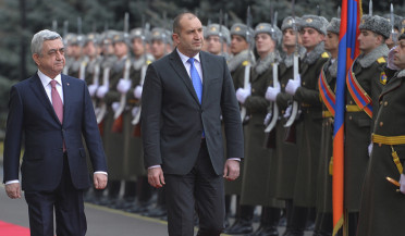 Bulgaria's President official visit ends