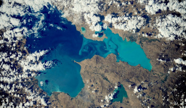 Lake Van from space