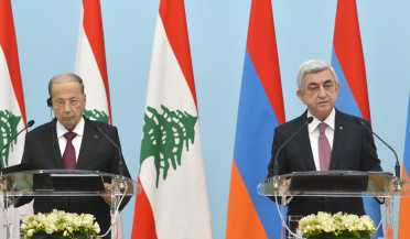 Armenian-Lebanese negotiations at Baghramyan 26