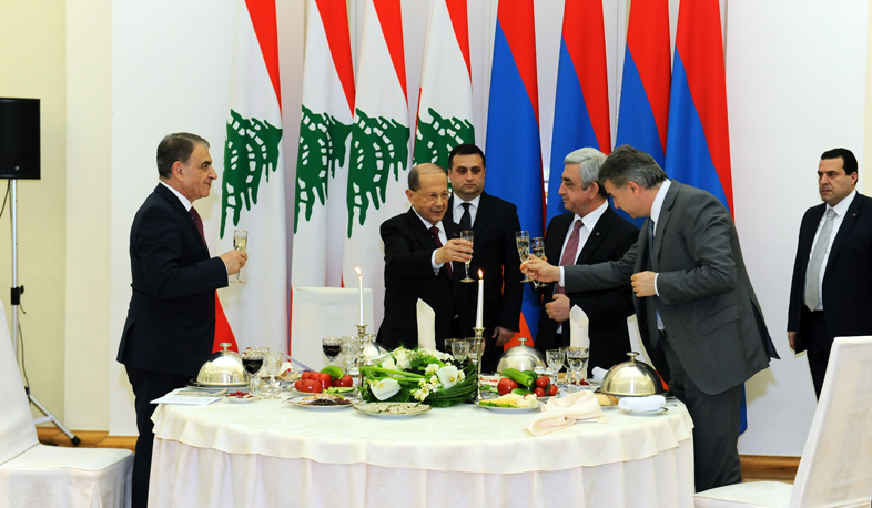 Armenia-Lebanon: true friends