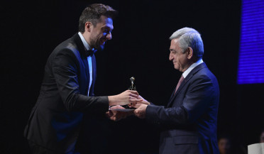 Nice Evening receives Haykyan Award