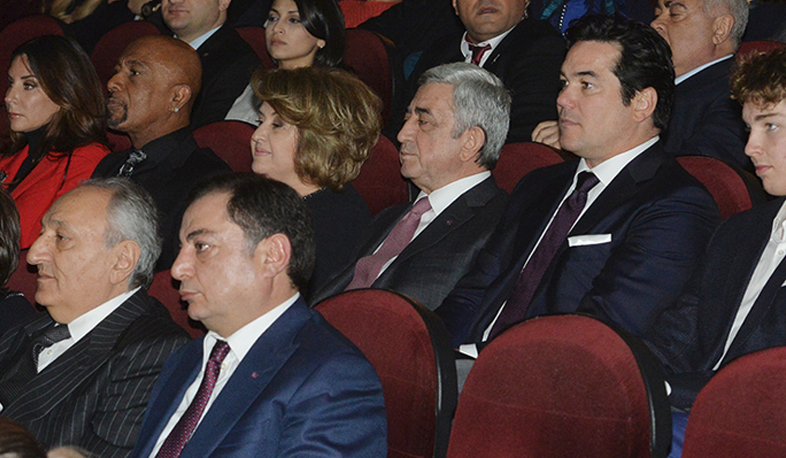 "President attends premiere of ""Architects of Denial"" documentary film"