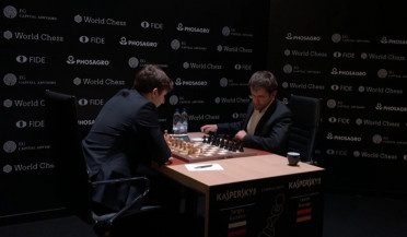 Aronian makes progress