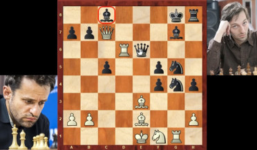 Aronian misses victory in fifth round