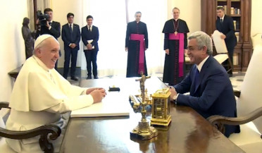 Impressive decade of Armenia-Vatican relations