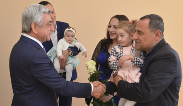 134 families receive apartment in Yerevan