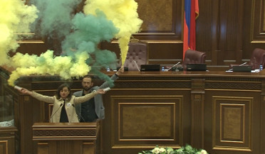 Yelk lights flares in National Assembly