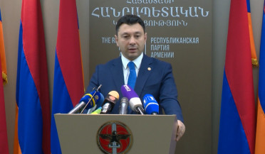 RPA submits Serzh Sargsyan's candidacy for PM