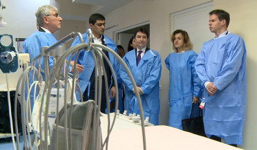 Goris hospital offers services to 2 provinces