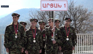 Koryun military games end in Dilijan