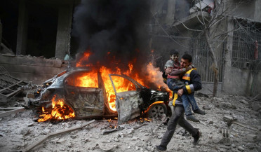OPCW looking for chemical weapon in Douma
