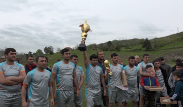 Football tournament dedicated to freedom fighters in Haghtanak