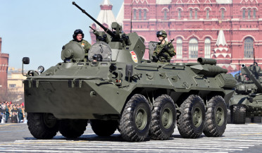 Moscow rehearses the victory parade