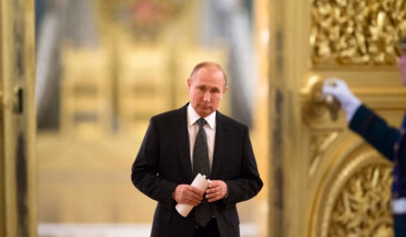 Putin inaugurated for fourth term as Russian president