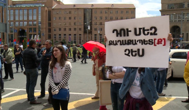 Protesters demand Mayor's resignation
