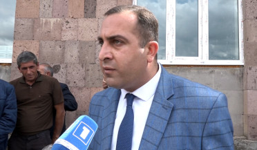 Etchmiadzin Water Company employees demand salary